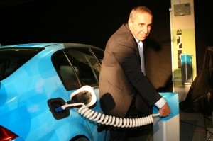 The Better Place Electric Car System