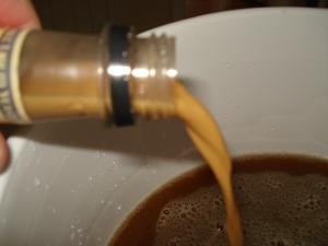 Adding the Yeast